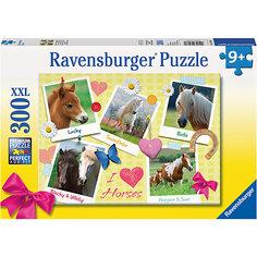 Пазл «Мои любимые лошади» XXL 300 шт Ravensburger