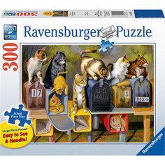 Пазл «Почтовые коты»  300 шт Ravensburger