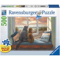 Пазл «Друзья у окна» 500 шт Ravensburger