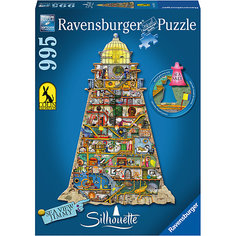 Контурный пазл «Странный маяк» 995 шт Ravensburger