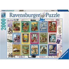 Пазл «Коллекция марок» 2000 шт Ravensburger