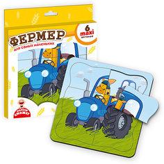 """Пазл-рамка """"Фермер"""" Vladi Toys"""