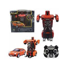 """Радиоуправляемый робот-трансформер 1Toy """"Трансботы"""" Машина, красный"""