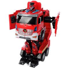 """Радиоуправляемый робот-трансформер 1Toy """"Трансботы"""" Пожарная машина"""