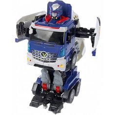 """Радиоуправляемый робот-трансформер 1Toy """"Трансботы"""" Грузовик"""