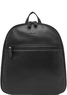 Черный кожаный рюкзак с двумя вместительными отделами Picard