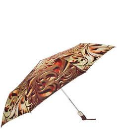 Складной зонт с пластиковой ручкой Zest