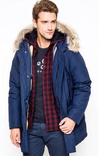 Хлопковый пуховик Arctic Parka DF с капюшоном Woolrich