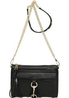 Маленькая кожаная сумка на молнии Rebecca Minkoff