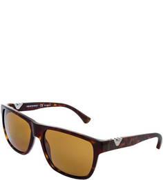 Солнцезащитные очки в пластиковой оправе Emporio Armani