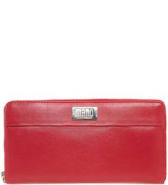 Кожаный кошелек с четырьмя отделами для купюр Mano