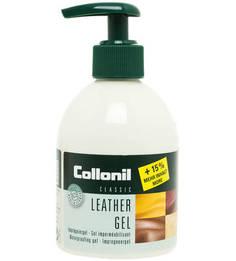 Гель для кожи с тройным эффектом - пропитка, очищение, уход Collonil