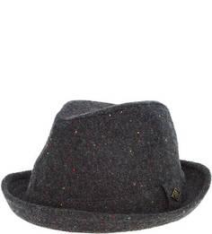 Серая шляпа из полиэстера и шерсти Goorin Bros.