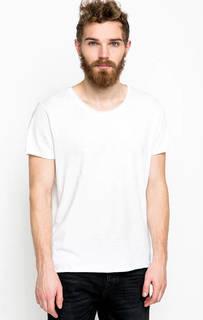 Футболка из хлопка белого цвета Calvin Klein Jeans
