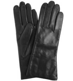 Кожаные перчатки с шерстяной подкладкой Bartoc