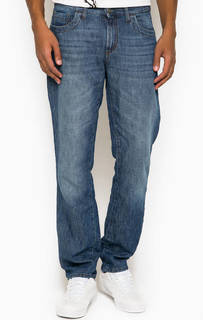 Прямые джинсы с заломами Bikkembergs