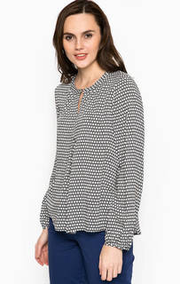 Блуза из вискозы свободного кроя S.Oliver Premium