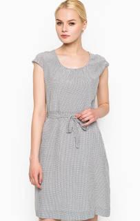 Платье из вискозы с короткими рукавами Cinque
