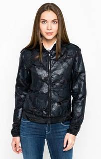 Темно-синяя куртка на молнии Armani Jeans