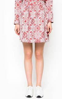 Короткая юбка с цветочным принтом Rich&Royal