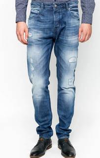 Рваные джинсы с заломами Gaudi