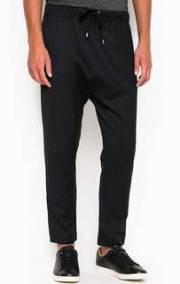 Трикотажные зауженные брюки на резинке Gaudi