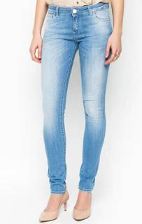 Джинсы скинни с потертостями Trussardi Jeans