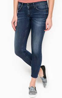 Укороченные джинсы с заломами Drykorn
