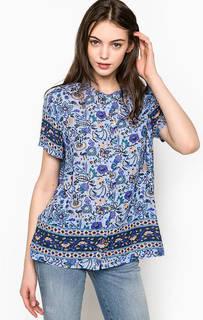 Блуза с цветочным принтом Maison Scotch
