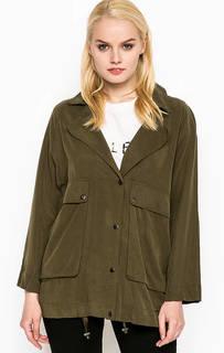 Легкая куртка цвета хаки Pepe Jeans