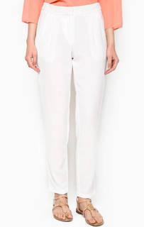 Зауженные белые брюки Ichi