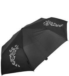 Черный складной зонт Doppler