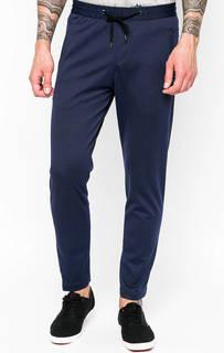 Синие брюки на резинке Cinque