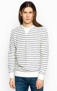 Полосатый хлопковый свитшот Pepe Jeans