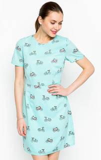 Платье мятного цвета с короткими рукавами Sugarhill Boutique