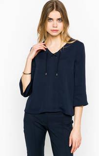 Синяя блуза с рукавами 3/4 More & More