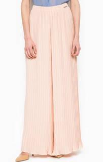Широкие брюки розового цвета Maison Espin
