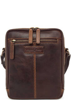 Кожаная сумка через плечо Gianni Conti