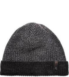 Вязаная шапка из шерсти и полиакрила Capo