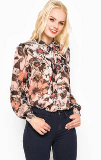 Блуза с цветочным принтом Juicy Couture