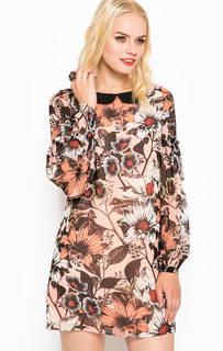 Платье с отложным воротником Juicy Couture