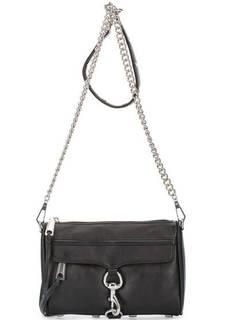 Кожаная сумка со съемным плечевым ремнем Rebecca Minkoff