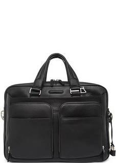Кожаная сумка с двумя ручками Piquadro