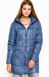 Синяя демисезонная куртка из полиэстера Lerros