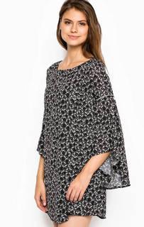 Короткое платье с расклешенными рукавами MET