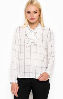 Блуза из полиэстера с бантом на шее Sugarhill Boutique
