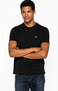 Комплект из двух хлопковых футболок с круглым вырезом Armani Jeans