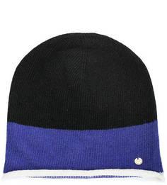 Трехцветная шапка из шерсти Armani Jeans
