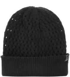 Черная шапка из акрила The North Face