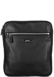 Кожаная сумка через плечо с широким плечевым ремнем Baldinini